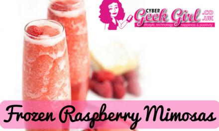 Blendtec Recipe Of The Week: Frozen Raspberry Mimosas
