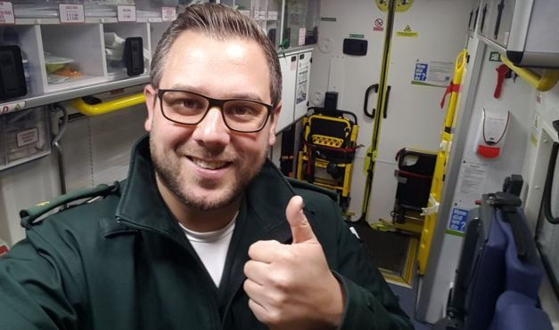 Interview: Rob Moore – The #BlueLightHappy Paramedic