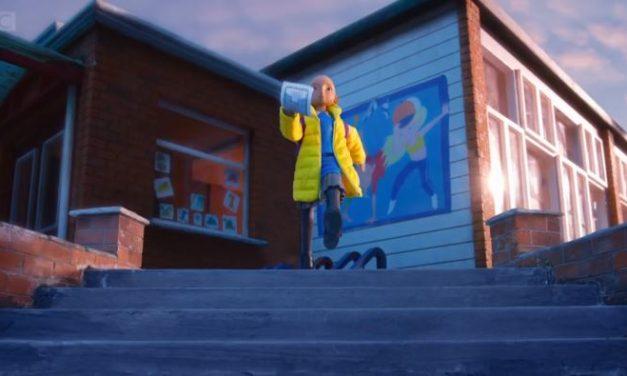 Video: BBC 1 Christmas Ident