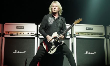 STATUS QUO Guitarist RICK PARFITT's Solo Album, 'Over And Out', Will Be Posthumously Released on 23 March 2017