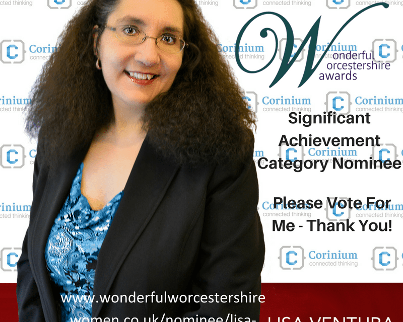 CyberGeekGirl Nominated in the Significant Achievement Category in the Wonderful Worcestershire Awards