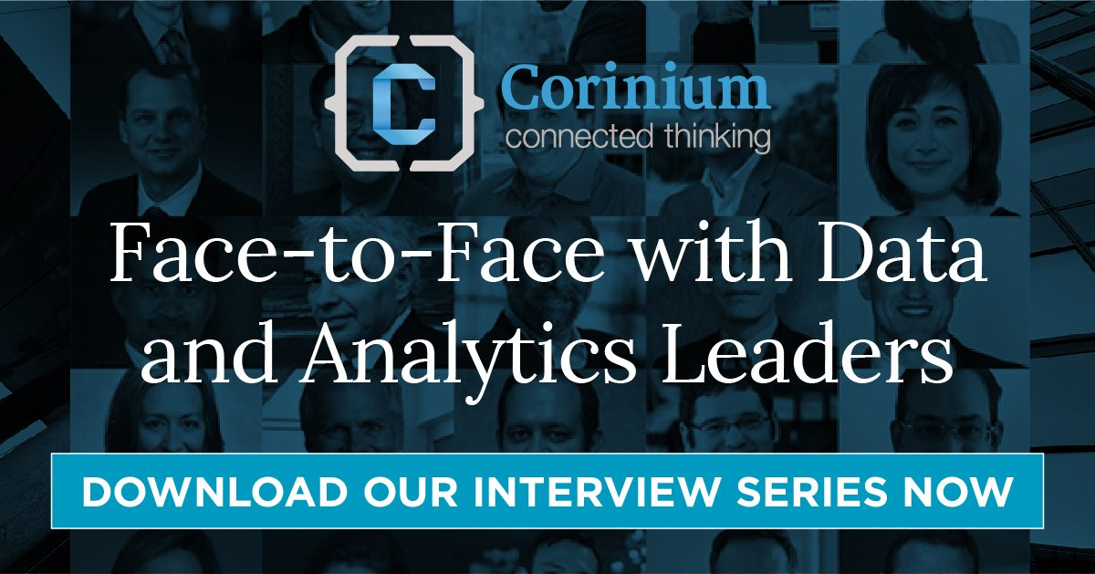 Face-to-Face With the Data and Analytics Leaders – Download Interview Series by Corinium Global Intelligence