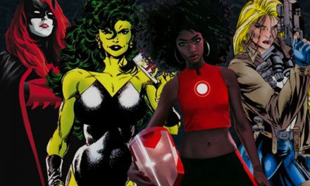 Infographic: Is it Really so Difficult to Come up With Unique Female Superheros?