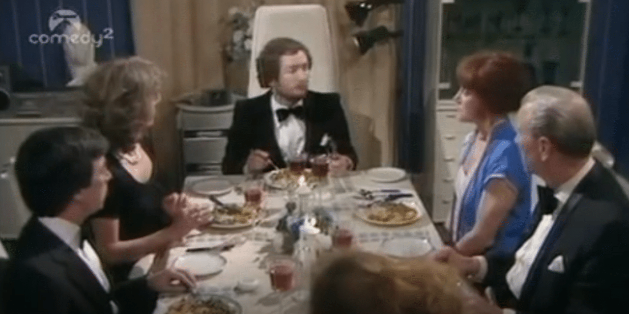 Video: Kenny Everett Dinner Party Dog Sketch