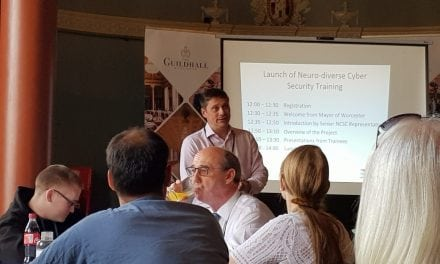 Launch of the Community Cyber Security Centre: Training Neurodiverse Adults in Cyber Security Skills