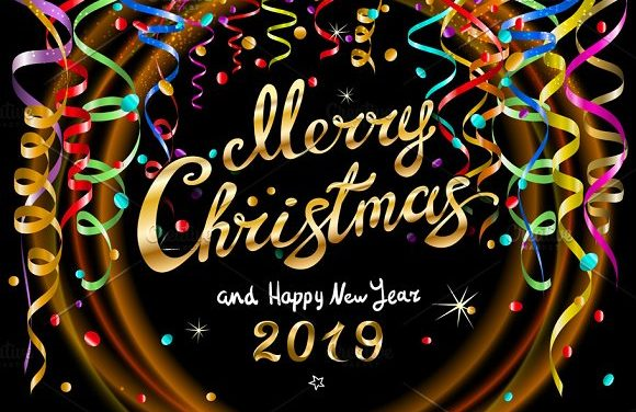 Merry Christmas and a Very Happy 2019