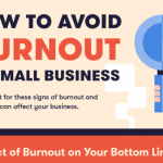Infographic: How to Avoid Burnout in Small Businesses